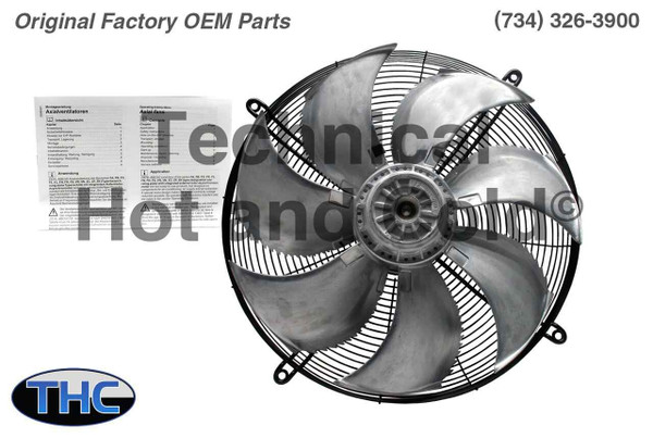 Lahntechnik Duotemp 110723 Axial Condenser Fan