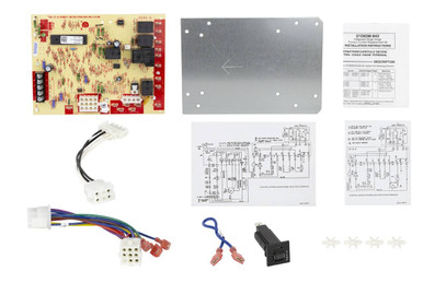 lennox y7761 integrated furnace control board kit | technical hot & cold  technical hot & cold