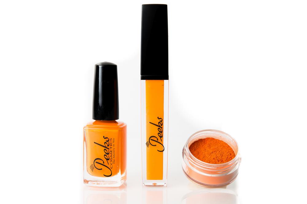 Tangerine gift set