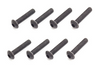 B01314 - M3x14mm Button Head Head Screw (8pcs)