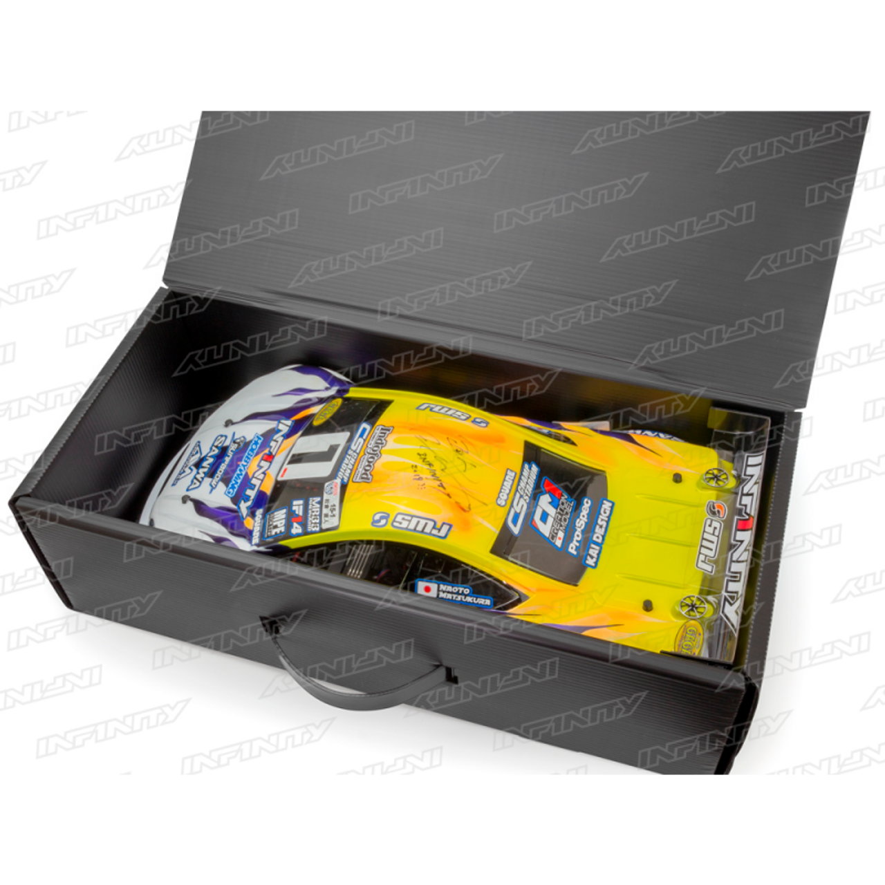 INFINITY PLASTIC CARDBOARD BOX