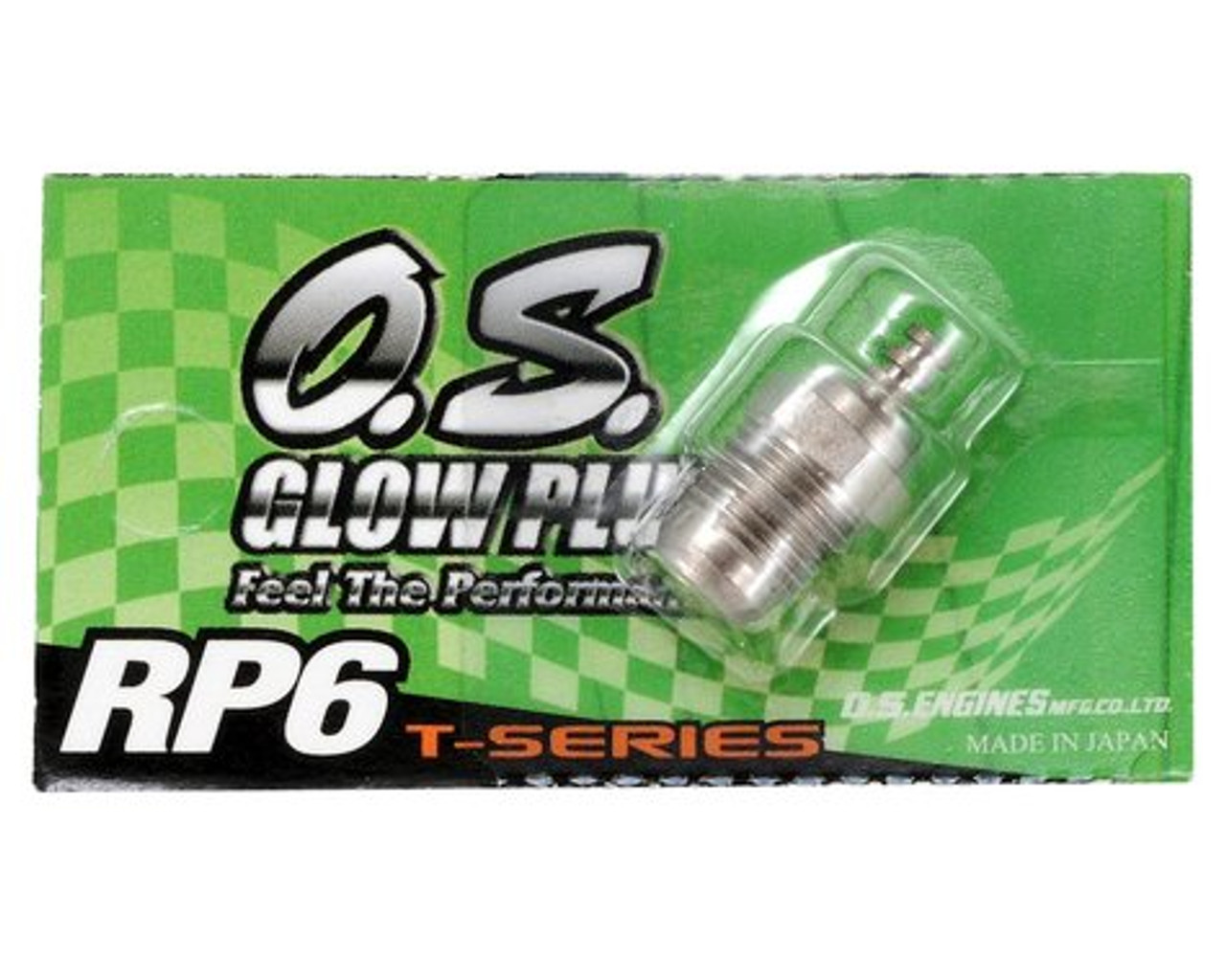 """O.S. RP6 Turbo Glow Plug """"Medium"""""""