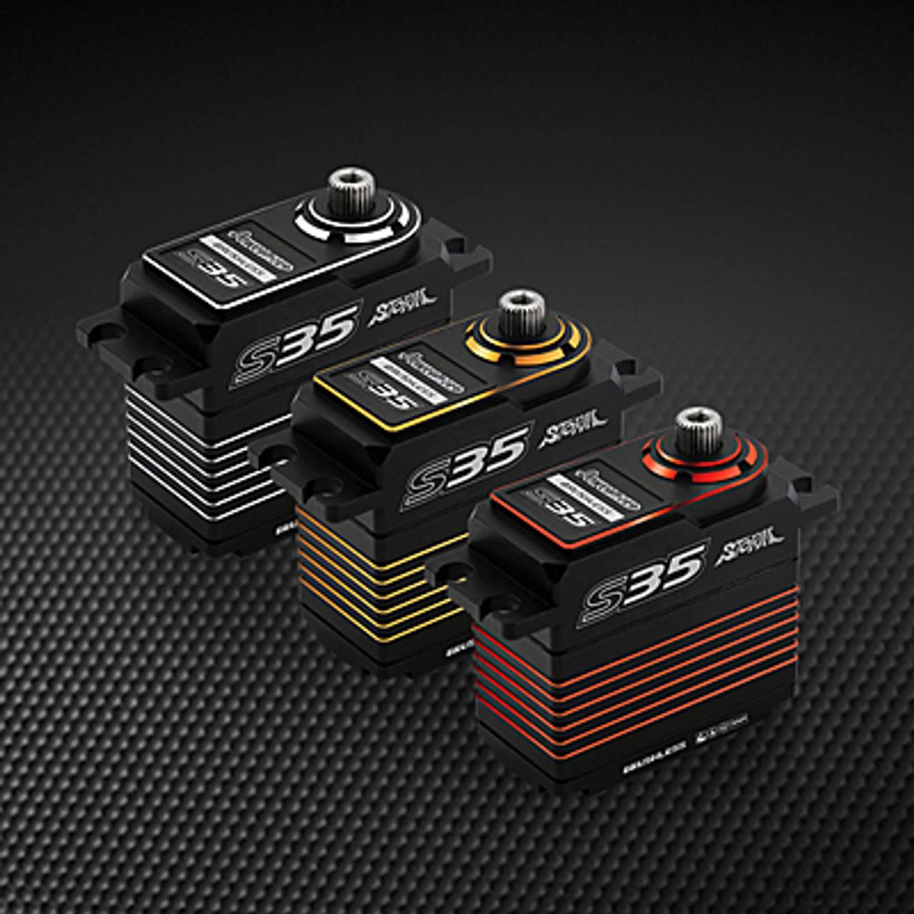 Power HD S35 Gold (0.075s/30.0kg/7.4V) Brushless Servo
