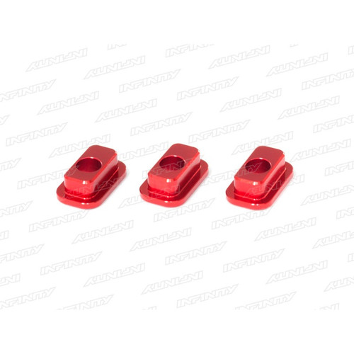 F074 - Aluminum Caster Bushing (2dot/3pcs)