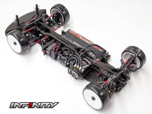 Infinity IF14-2 1/10 Electric Touring Car Kit - Aluminum