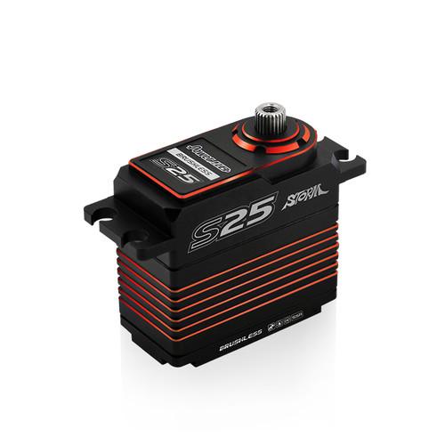 Power HD S25 Red (0.06s/25.0kg/7.4V) Brushless Servo