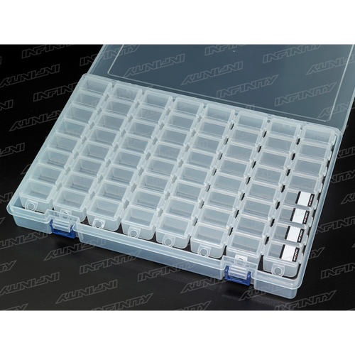 A0077-8 - Infinity Small Parts Case Set (8 COMPARTMENTS/8PCS)