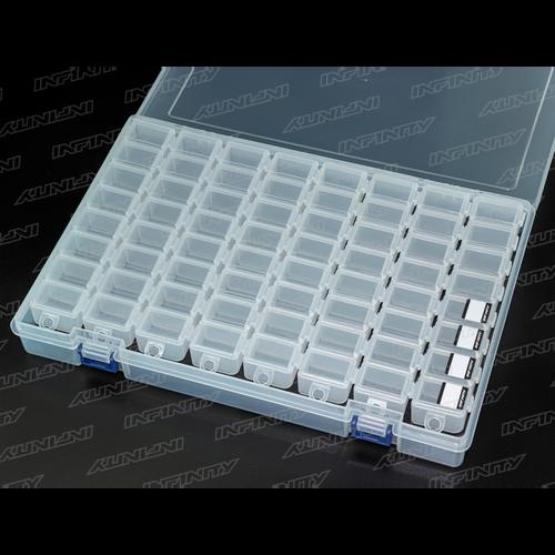 A0077-8 - Infinity Small Parts Case Set (8 COMPARTMENTS/8PCS)