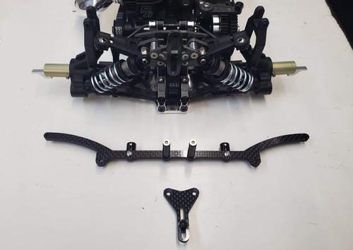 SRT - Rear Carbon Body Mount Set (IF18/IF18-2)