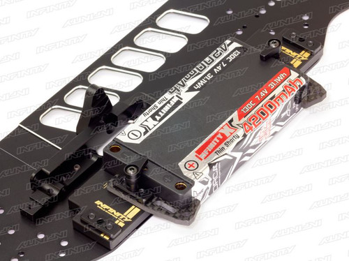 T264 -BATTERY HOLDER WEIGHT SET (FOR SHORTY BATTERY)