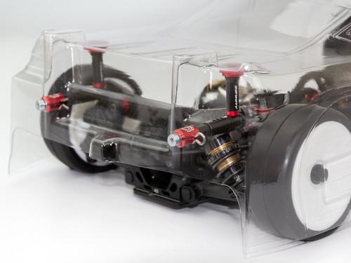 SMJ MAGNETIC BODY POST MARKER (1/10 Scale Car/Black)