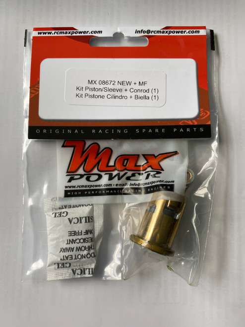 Max Power Complete Piston/Rod/Sleeve Combo - MX .12 XP3