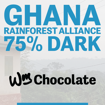 Wm. Chocolate News, March 2019: Ghana 75% Bar Spotlight