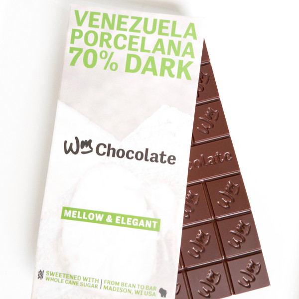 Venezuela, Porcelana - 70% Dark Bar