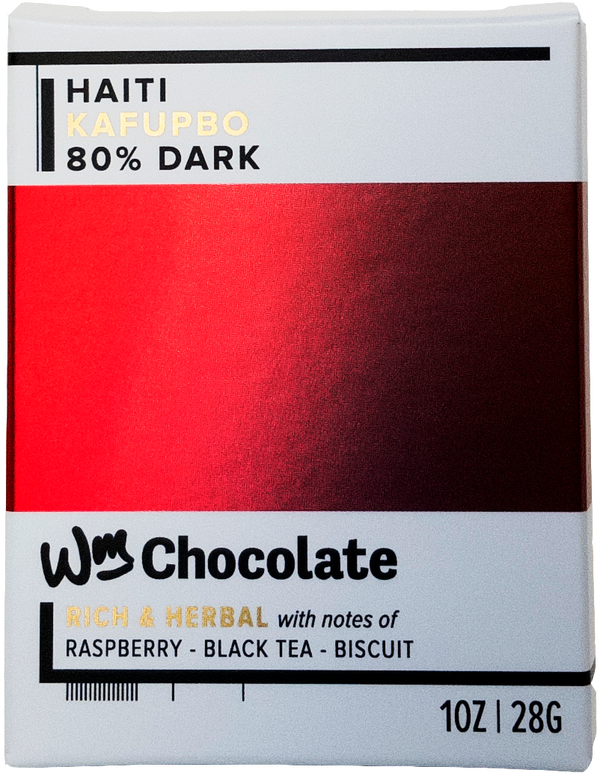 Haiti, Kafupbo - 80% Dark Bar