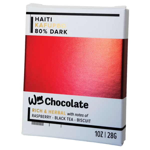 Wm. Chocolate News, October 2019: Haiti 80% is Back