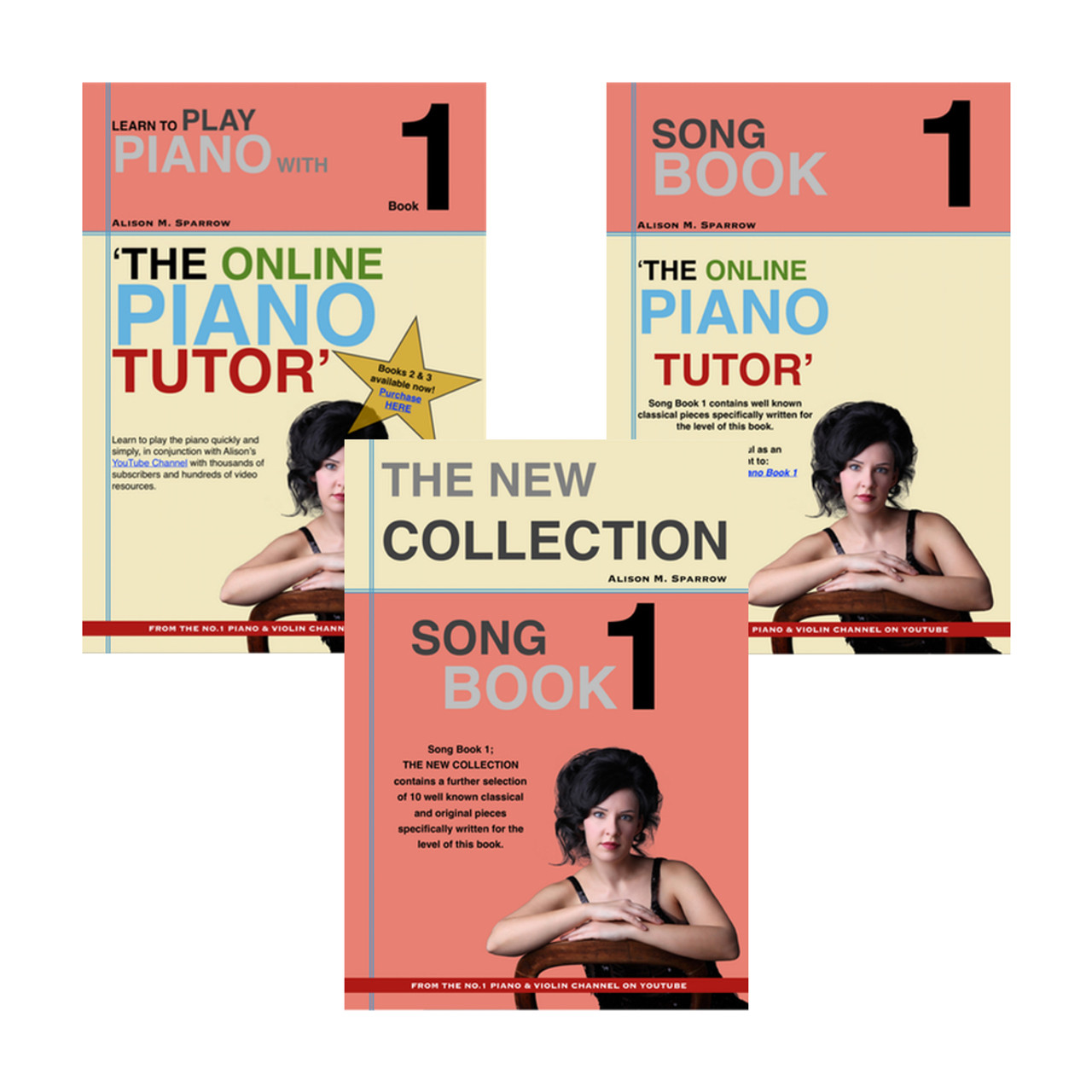 *BUNDLE 1 * Learn To Play The Piano Books 1 | (Download Only)