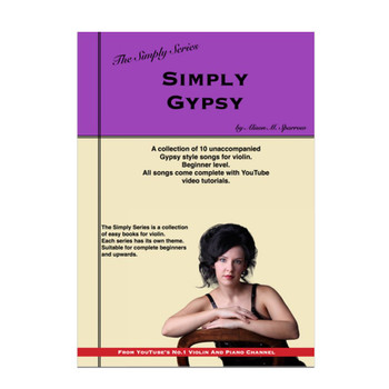 Simply Gypsy for Violin | The Simply Series | (Download only)