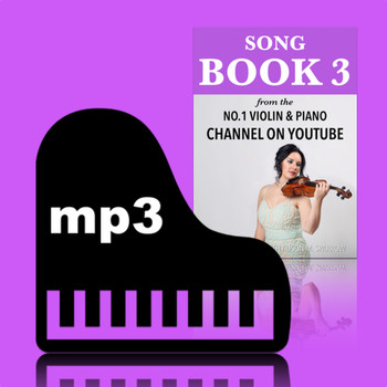 Learn To Play The Violin Book 3 Piano Backing Tracks | (Download Only)