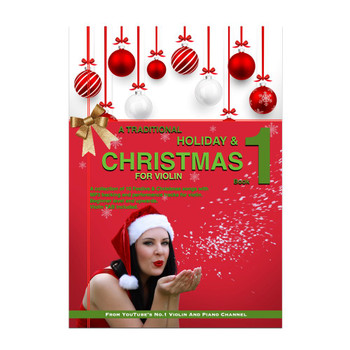 A Traditional Christmas & Holiday VIOLIN Book | (Download Only)