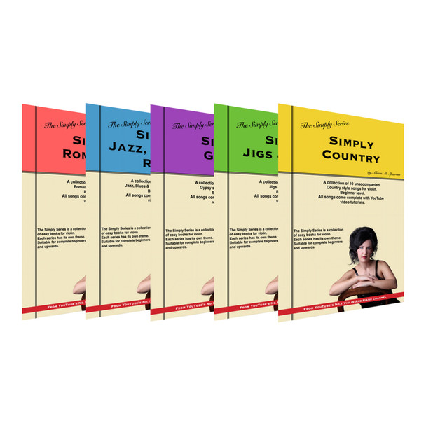 The Simply Series for Violin | Complete Collection | (Download only)