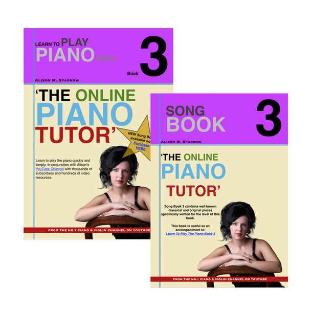 *COMBO DEAL* | Learn To Play The Piano Book 3 AND Song Book 3 | (Download Only)