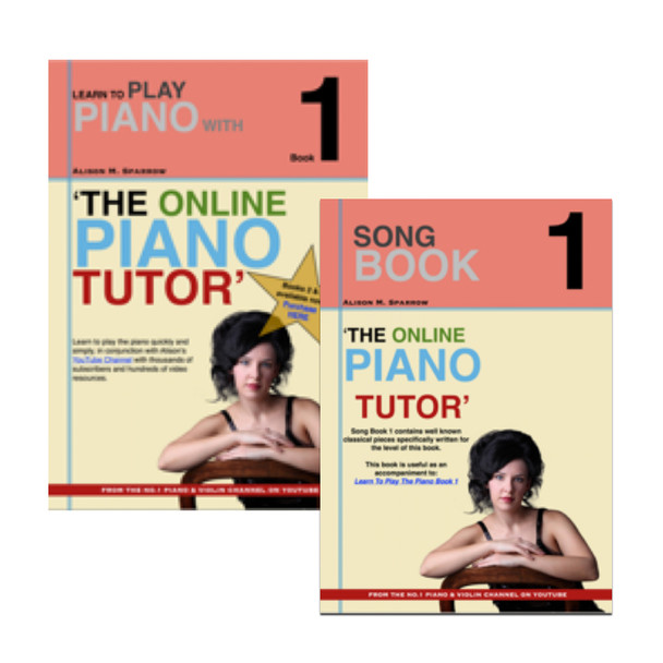 *COMBO DEAL* | Learn To Play The Piano Book 1 AND Song Book 1 | (Download Only)
