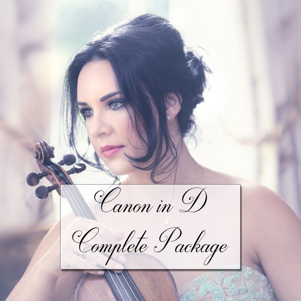 Canon in D (classical version) - Violin Package | Download Only