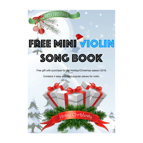 FREE Mini Violin Book on eligible purchases
