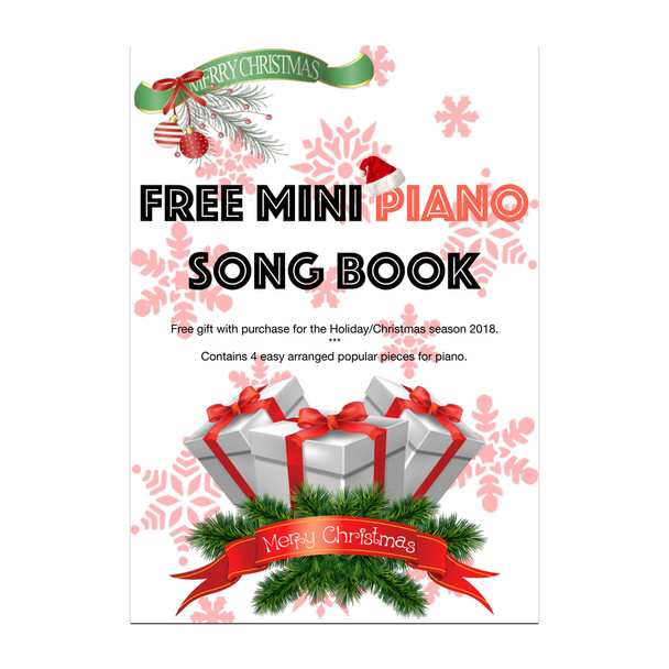 FREE Mini Piano Book on eligible purchases