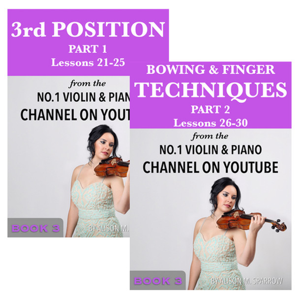 Learn To Play The Violin Book 3 | (Download Only)