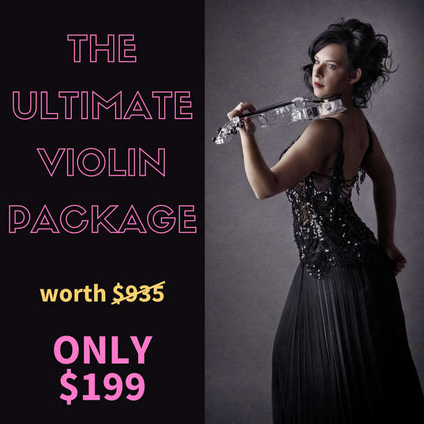 THE ULTIMATE VIOLIN LESSON PACKAGE