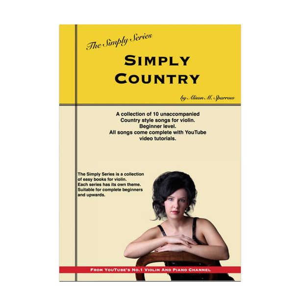 Simply Country for Violin | The Simply Series | (Download only)