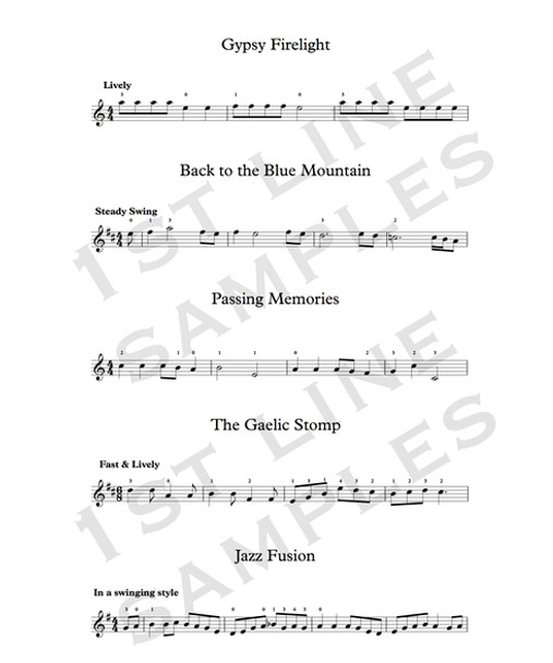 Simply Jigs & Reels for Violin | The Simply Series | (Download only)