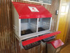 Duncan's Poultry 2 Hole Side by Side  Roll Out Nesting Box . Made in the USA!