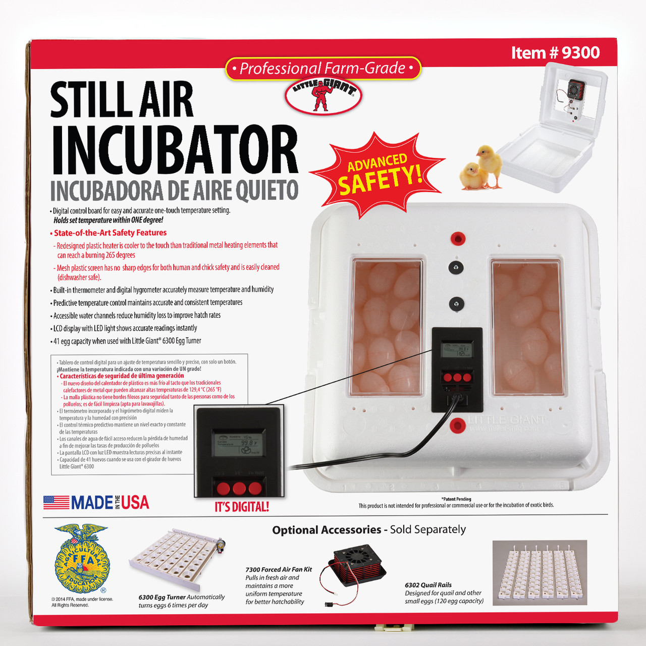 Little Giant Still Air Incubator 9300