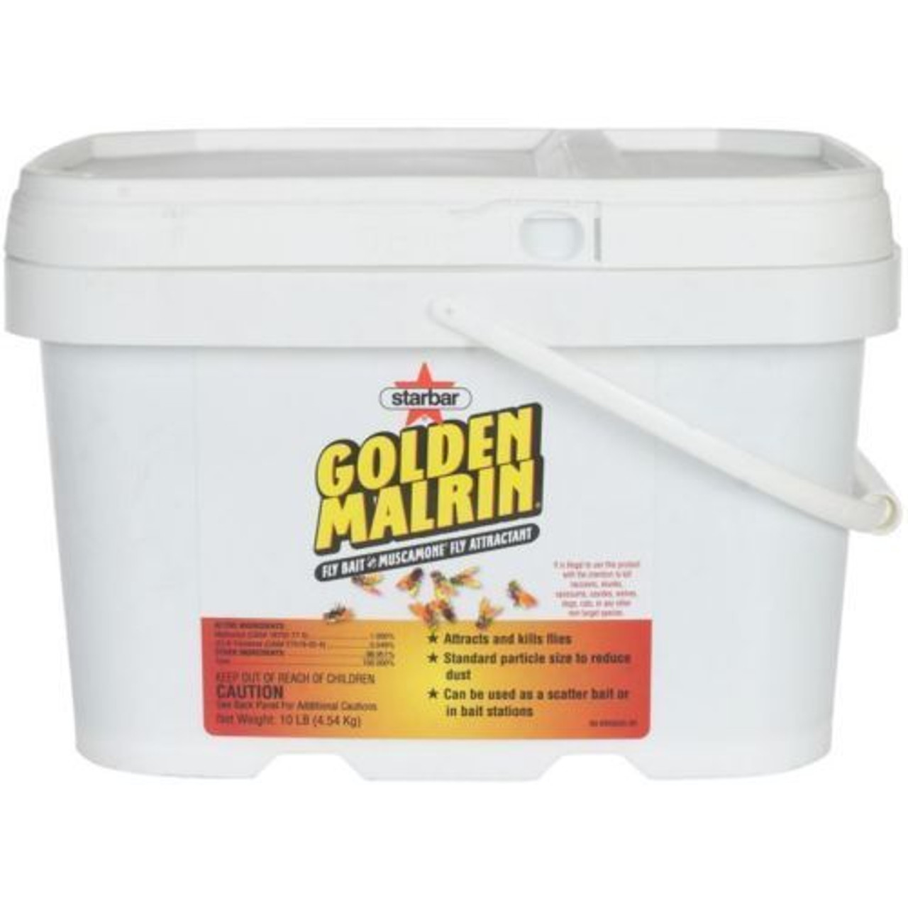 Golden Malrin - 10 LB Bucket Fly Bait - Killer.