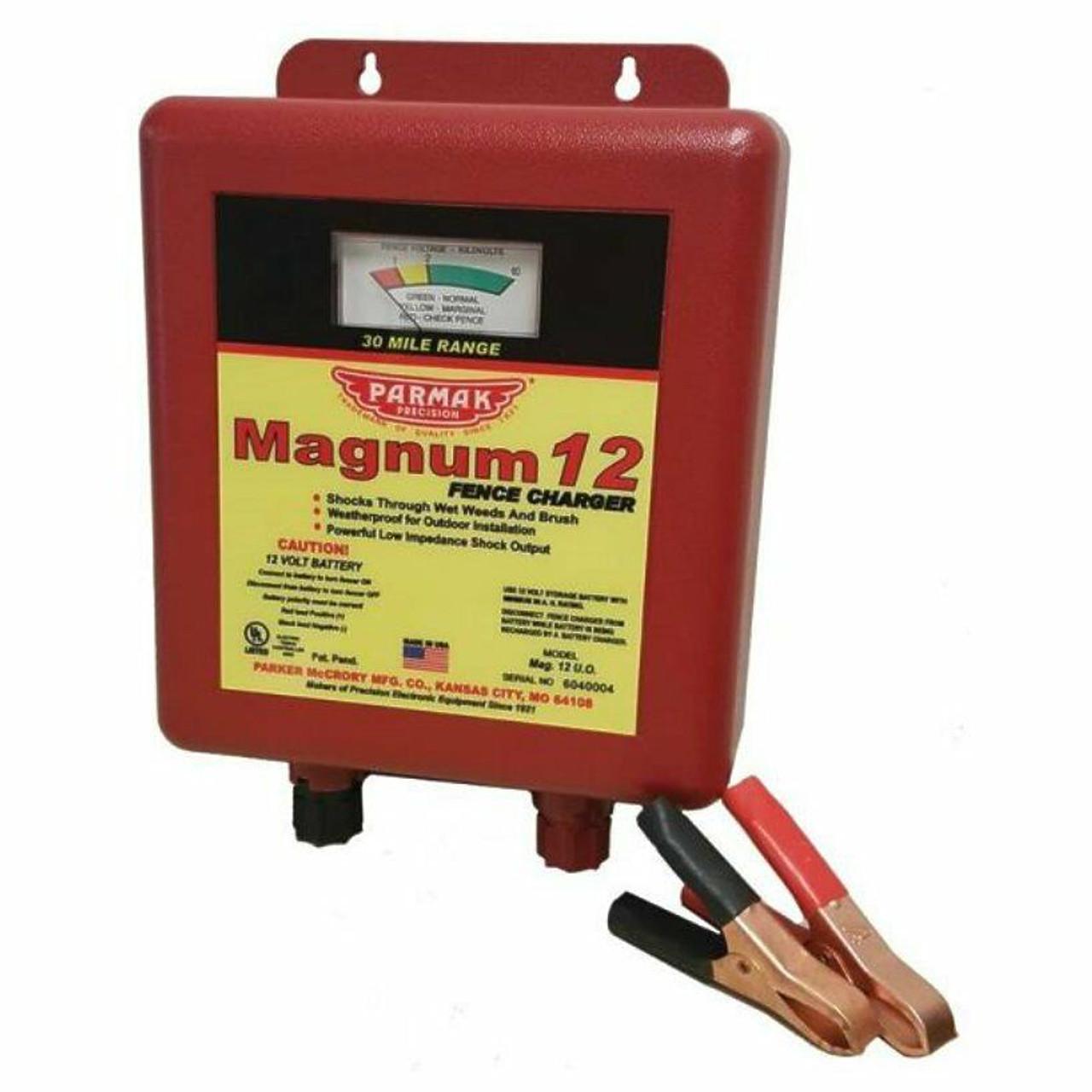 Parmak Precision MAG 12-UO 12 Volt  Solar Fencer