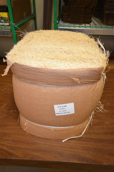 Excelsior Nesting Pads 13x13  40 Pack!  Bale of 40 Nest Pads.