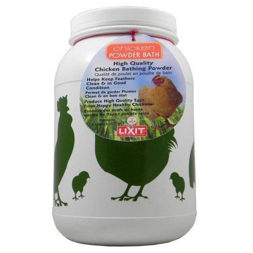 Lixit Chicken High Quality Dust Bath --  Natural Mite Control