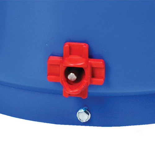 Heated Poultry Nipple Bucket Waterer 3 Gallon