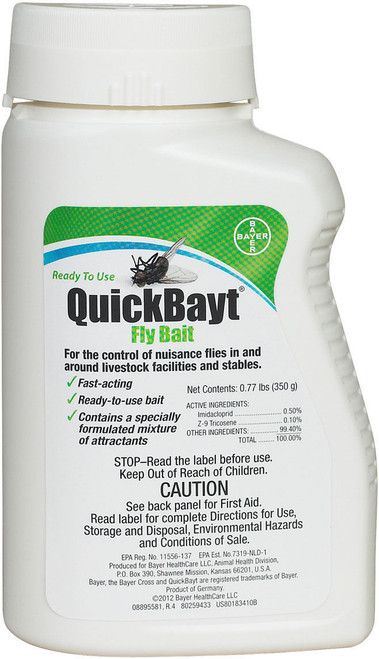 Bayer Quickbayt Fly Bait 350 gm - Best Fly Killer out There