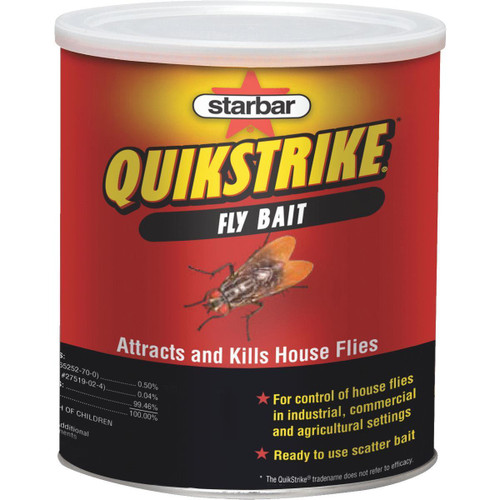 Quikstrike Fly Bait - 1 LB Can.