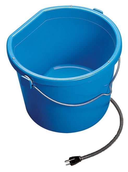 API Miller Plastic Heated Flat Back 5 Gallon Bucket Lock n dry Quit Breaking Ice!!