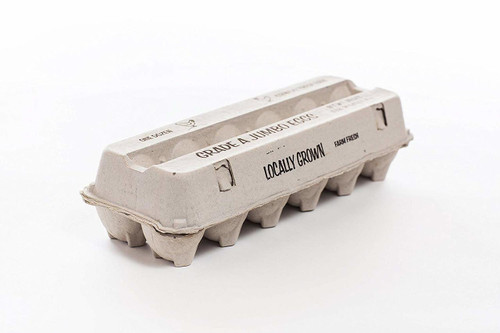 25 Egg Cartons - 12 Count Grade A JUMBO