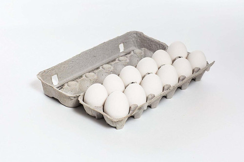 25 Egg Cartons - 12 Count Grade A EXTRA LARGE