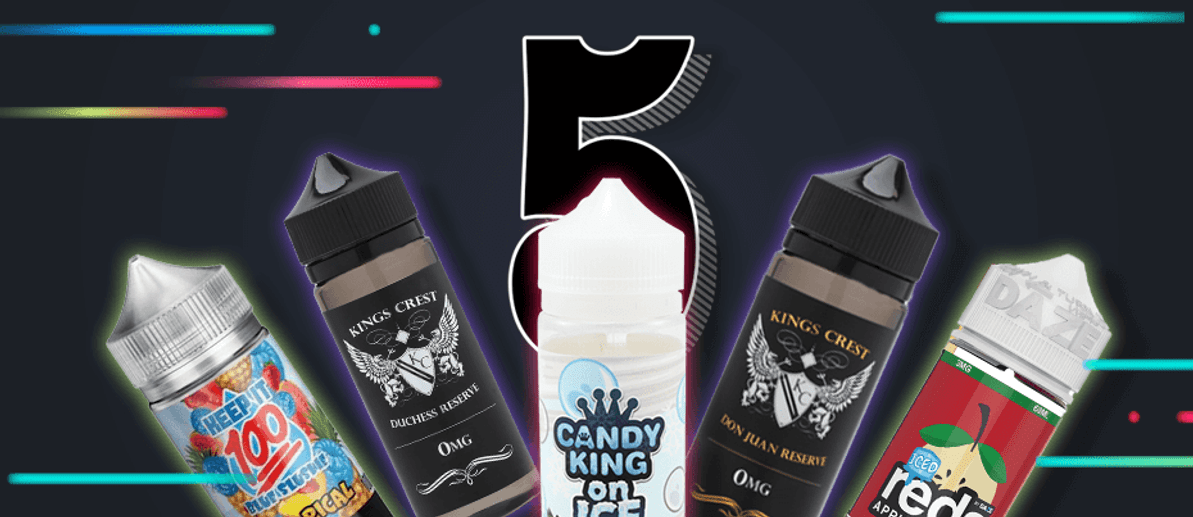 Top 5 ejuices of 2020 till now