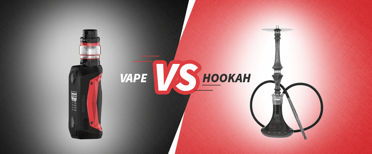 WHAT IS THE DIFFERENCE BETWEEN VAPING AND HOOKAH USAGE?