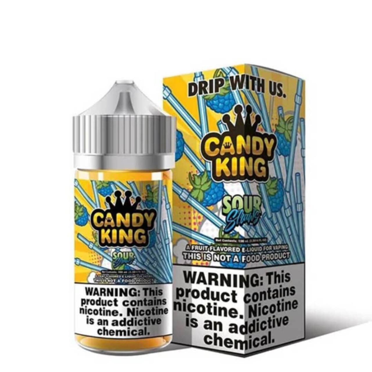 Candy King Sour Straws 100ml E-Juice