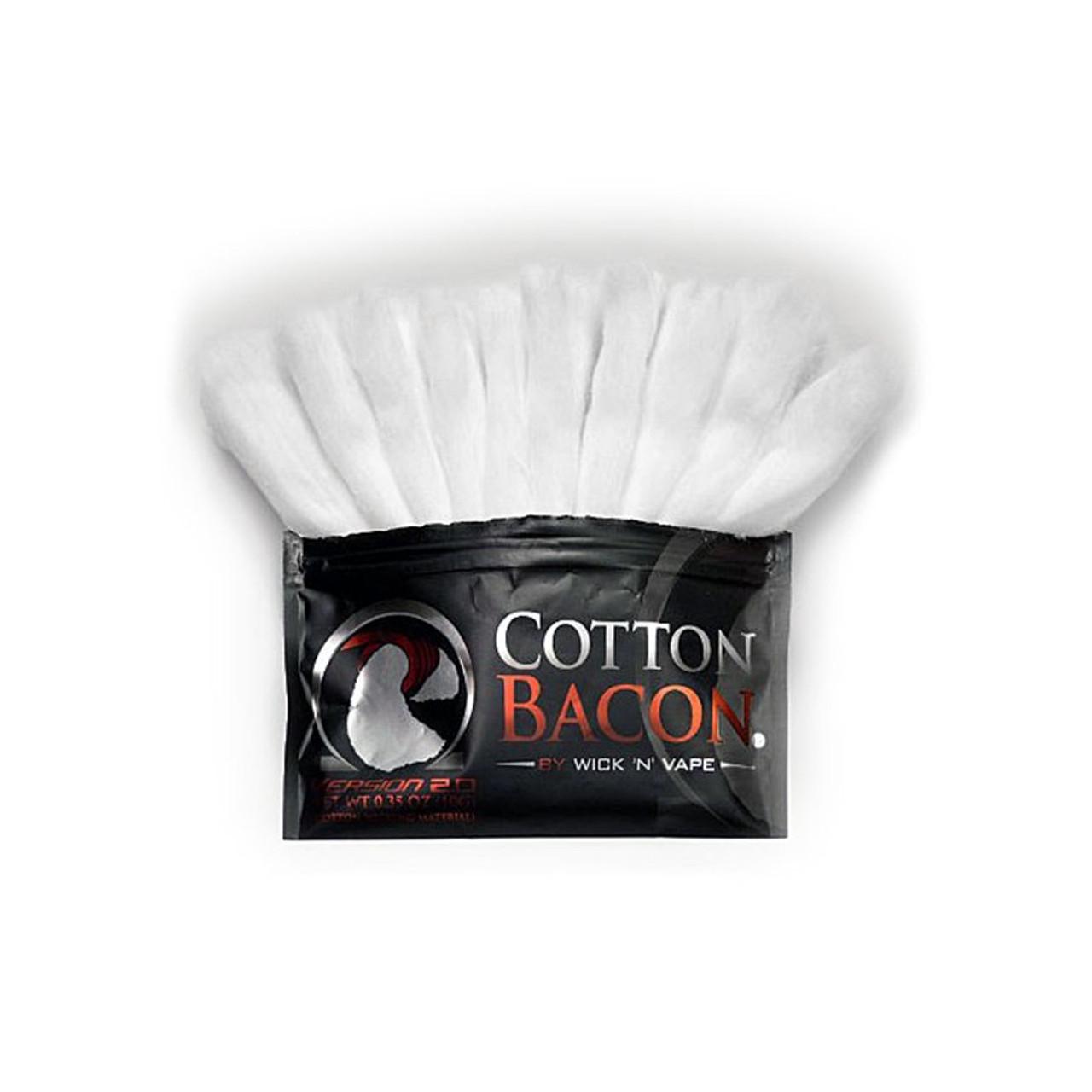 Zubehör Wickelwatte Selbstwickler BaconV2 Cotton Wick N Vape Bacon V2 Watte